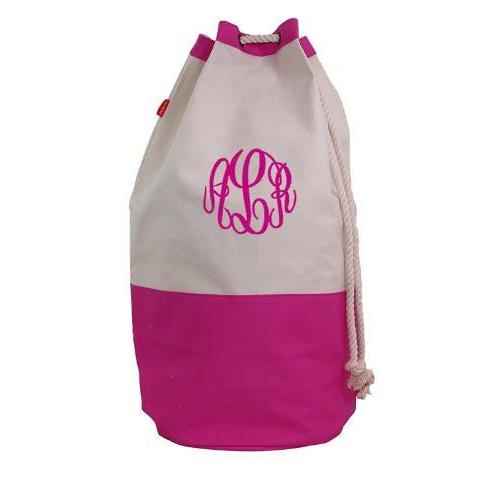 Personalized Laundry Duffle Bag