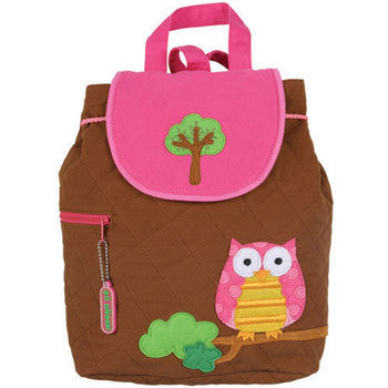 personalized owl back pack