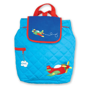 Back Pack - Airplane personalized for toddler – Pretty Personal Gifts 094ac43cf867a