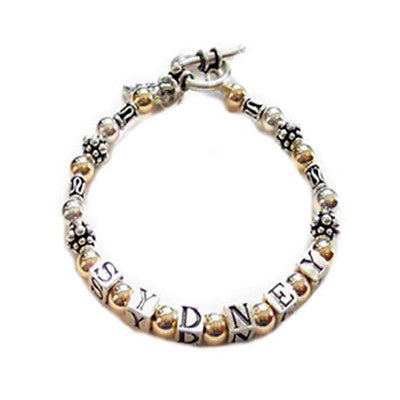 mother's name bracelet