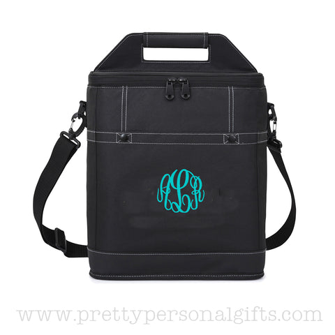 Wine Cooler Bag With Monogram Insulated