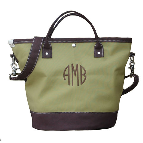 Henry Brown Blanca Tote Bag - free monogram