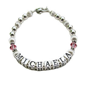 name bracelet for child