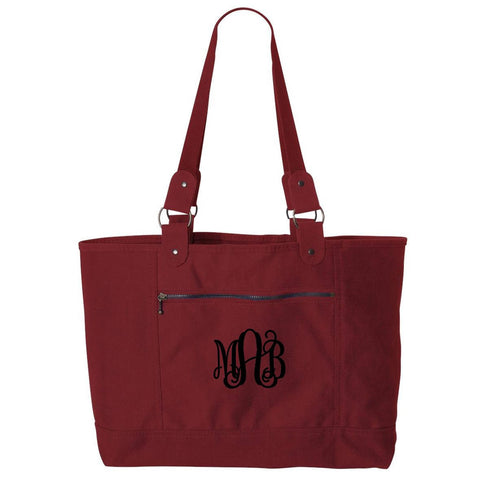 medium tote personalized