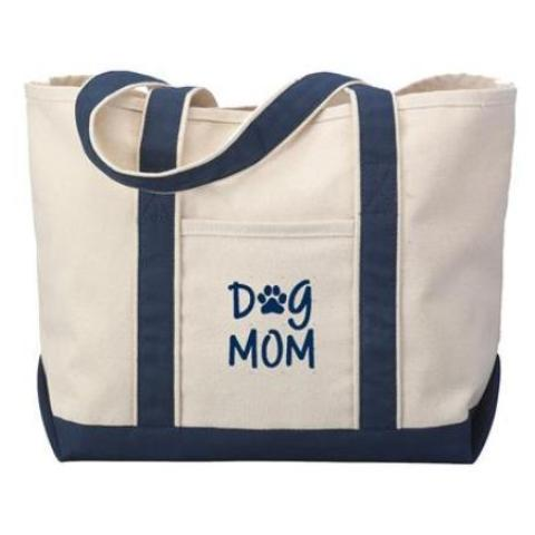 Dog Mom Tote Bag - Dog Dad Tote Bag