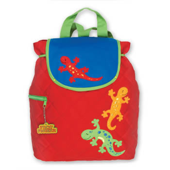 gecko back pack personalized
