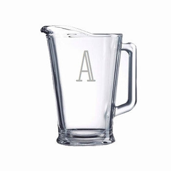 Personalized Pitcher - glass