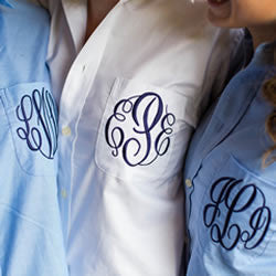 Brides wedding shirt from Pretty Personal Gifts