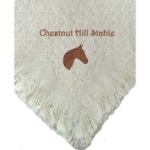 Personalized Horse Blanket