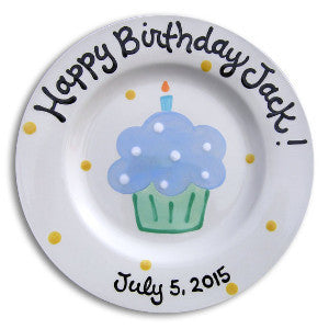 birthday plate personalized
