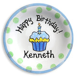 ceramic birthday plate
