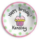 1st birthday plate for child