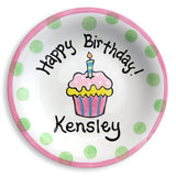 personalized birthday plate for child