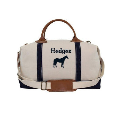 Personalized Horse Barn Tote