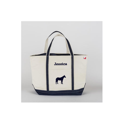 personalized horse bag