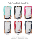 personalized baseball tee shirt