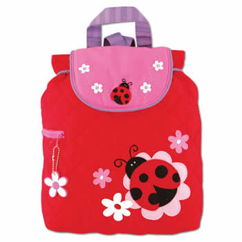 lady bug back pack personalized