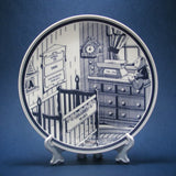 delft plate personalized for baby