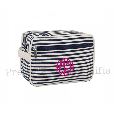 Monogrammed Toiletry Kit - Toiletry Bag - 2 colors