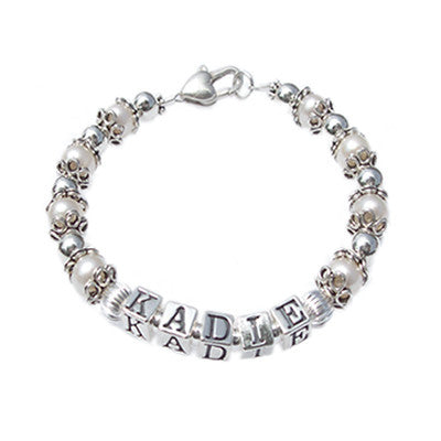 Personalized Child's Name Bracelet