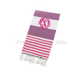 Light Cotton Hot Yoga Towel Personalized