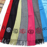 Winter Scarves Monogrammed - Monogram Scarf
