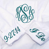Monogrammed Bridal Party Shirts