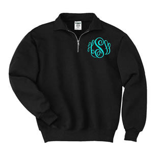 monogram sweatshirt
