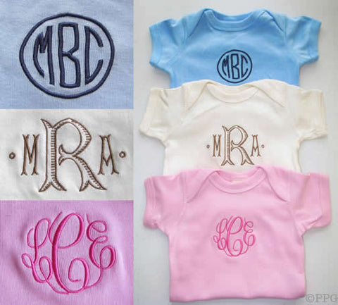 Personalized Organic Cotton Onesie
