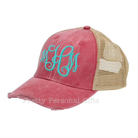 Trucker Hat with monogram
