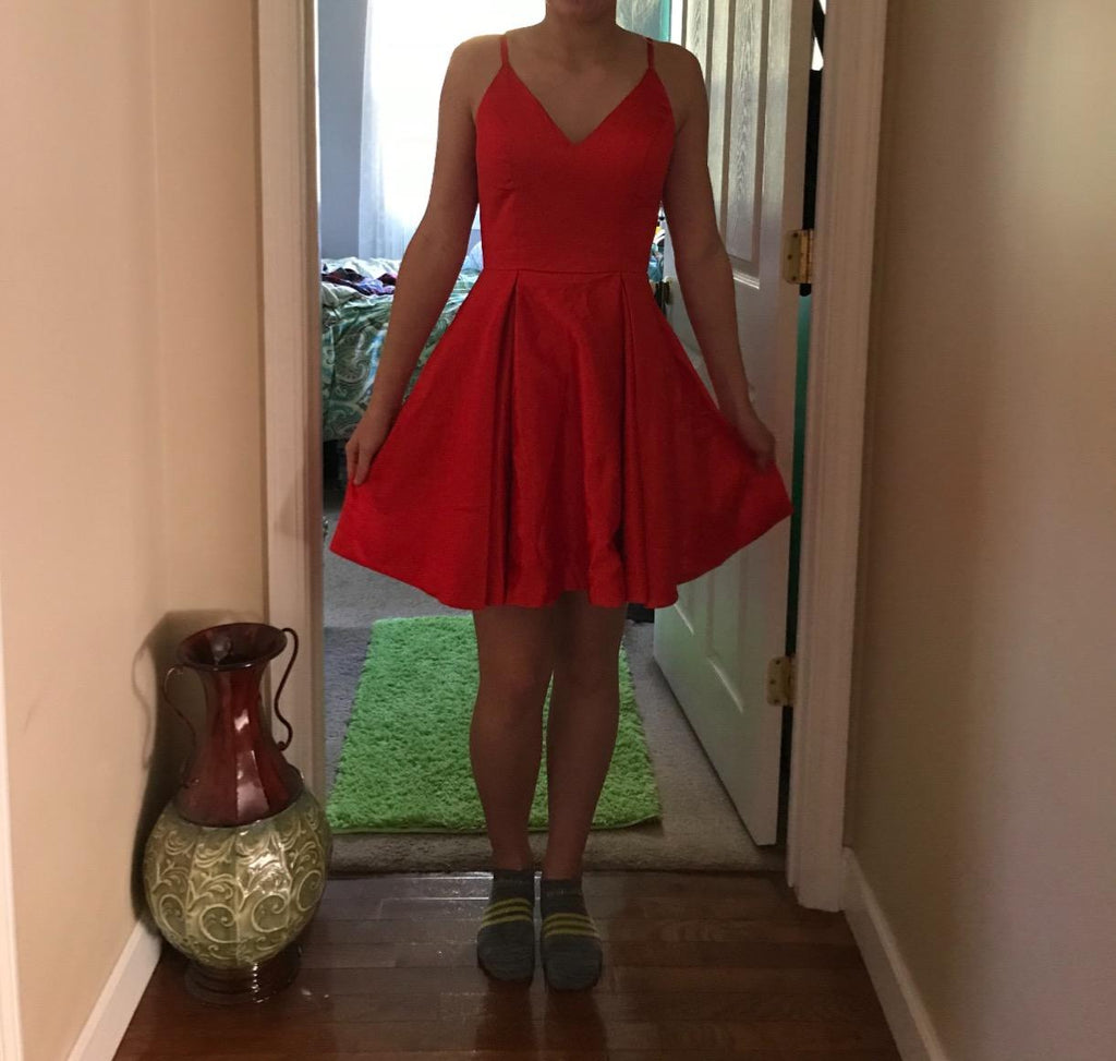 Review for a Short Burgundy Dresses