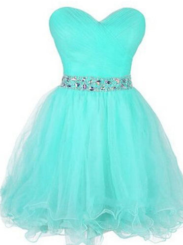 Sweetheart Neck Short Prom Dress, Short Homecoming Dress, Short Graduation Dress