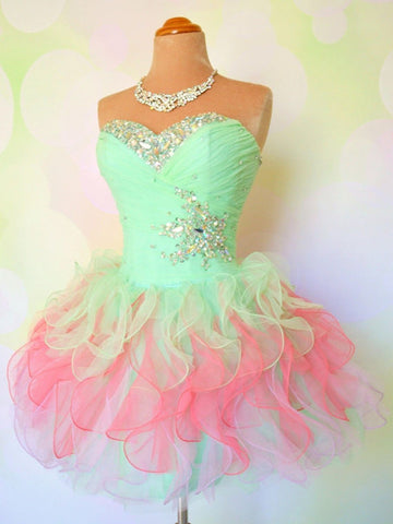 Custom Made Short Prom Dresses, Short Formal Dresses, Homecoming Dresses, Graduation Dresses
