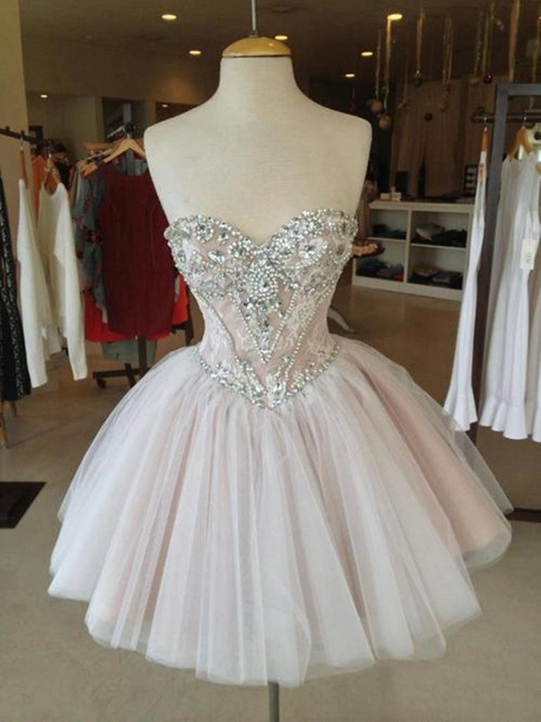 Sweetheart Neckline Short Prom Dresses, Homecoming Dress