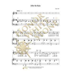 After the Rain - piano, vocal, guitar
