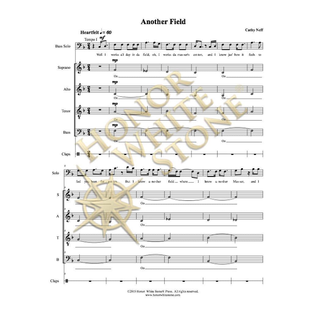 Another Field - SATB