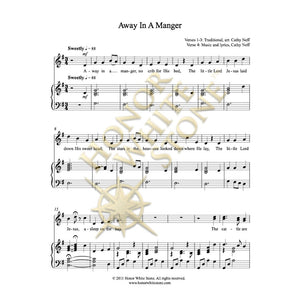 Away in a Manger - SSA