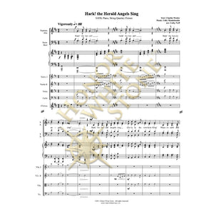 Hark! the Herald Angels Sing - SATB strings
