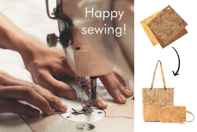 Quick Sewing Guide with Cork Fabric
