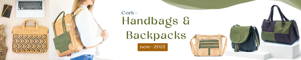 Cork handbag&backpack
