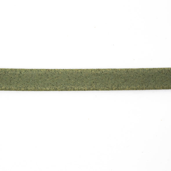 10 meters Dark green 10 cork cord Cor-136