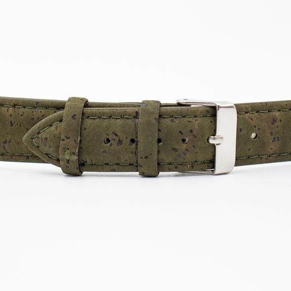 Cork watch strap watch band vegan leather watch straps E-018-18/20