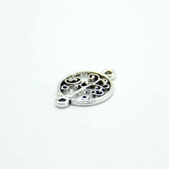 40 units Pendant antique silver life of tree ,tree charms Pendants Jewelry Findings & Components D-3-311