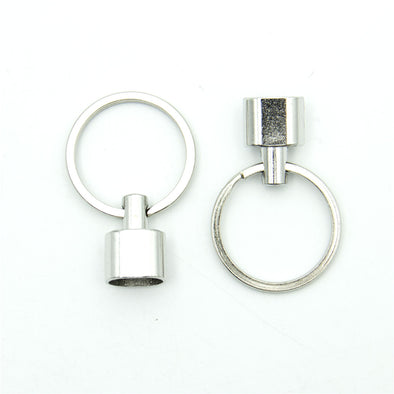 10pcs Keychain loop end in Zamak D-6-200