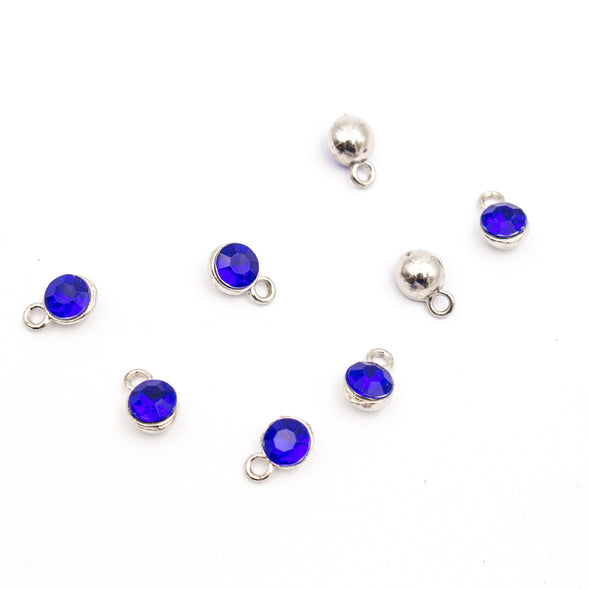 10pcs Shiny Colourful Pendants for Necklace, Jewelry Finding Supplies D-3-400