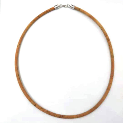 10units Natural Cork necklace cord cord 45cm length  N-000-A/B