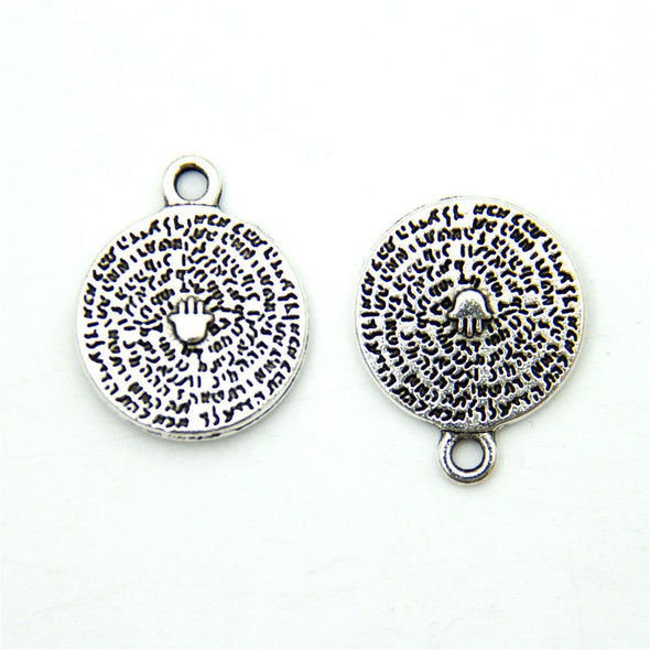 20 units Pendant antique sliver hand charms Pendants Jewelry Findings & Components D-3-335