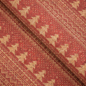 Christmas Fabric Collection Red tree pattern COF-329