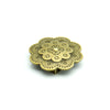 10pcs Bronze Flower Slider for 10mm Flat Cord D-1-10-185
