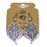 Portuguese Viana heart earrings women earrings handmade lady original dangle earrings SE-1028-B